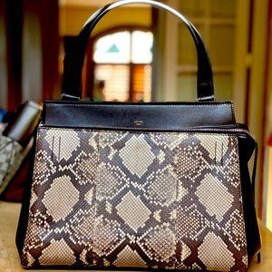Céline PythonLeather Handbag 100% Authentic